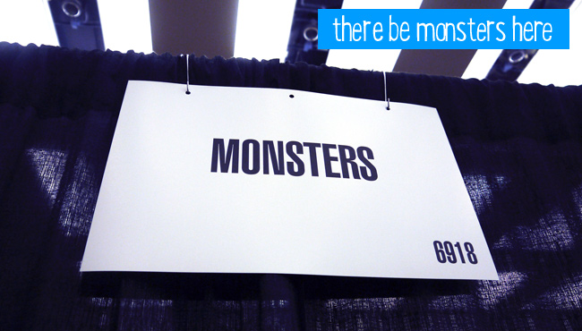Placeholder note for Monster's PAX Booth