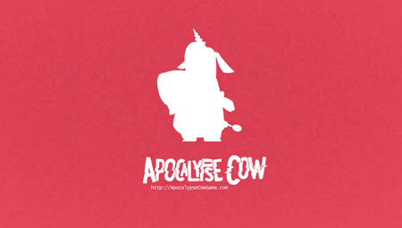 Apocalypse Cow Wallpaper - Pink